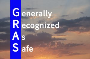 GRAS image showing acronym for Generally Recognize As Safe