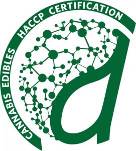 Cannabis Edibles HACCP Certification Logo